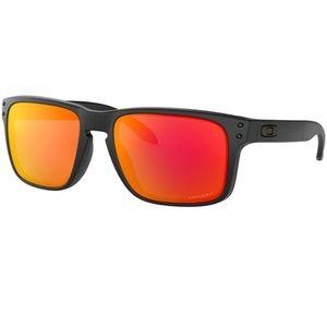 Oakley Sunglasses Matte Black With Prizm Ruby Lens